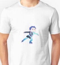 Katsuki Yuuri Skating Chibi 4 T-Shirt