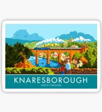 Knaresborough, North Yorkshire Sticker
