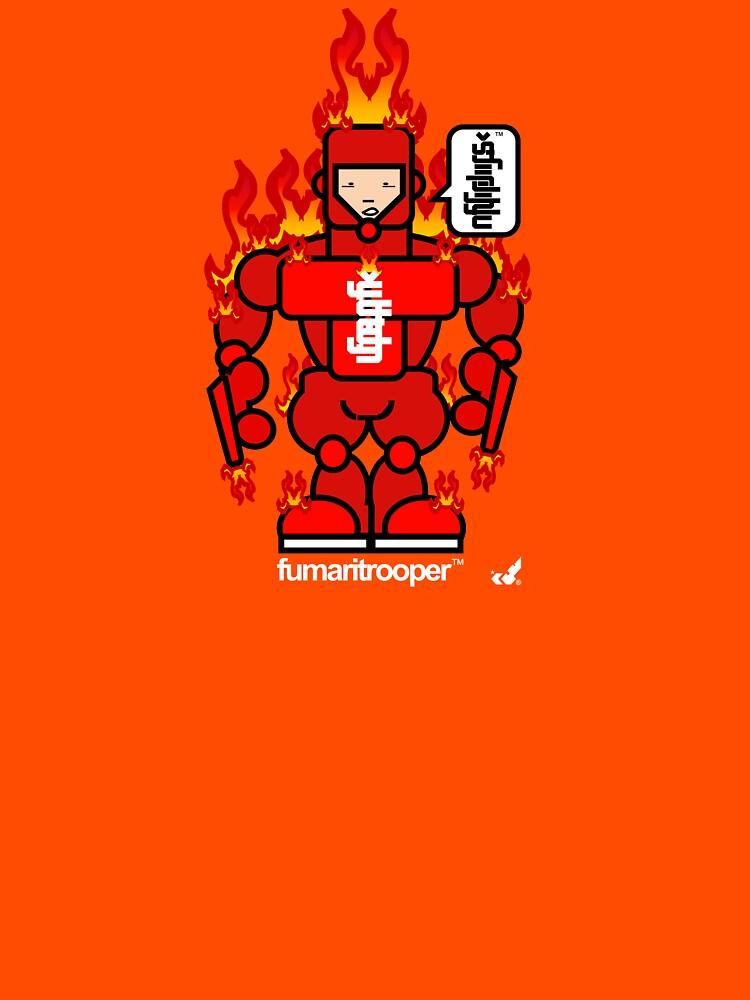 AFR Superheroes #09 - Fumaritrooper by afrenasia