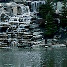 Britton Falls ~ Fishers, Indiana by Marie Sharp