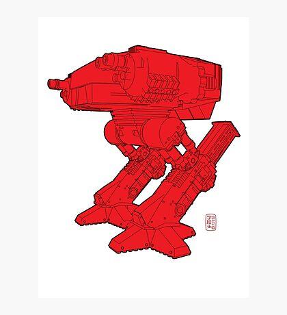 Red Robo Photographic Print