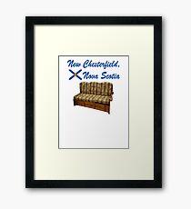 New Chesterfield Nova Scotia  Framed Print