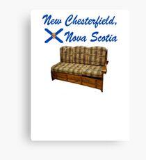 New Chesterfield Nova Scotia  Canvas Print