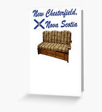 New Chesterfield Nova Scotia  Greeting Card