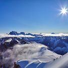 Mont Blanc massif by James Anderson
