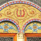 Greek O Church Door top by henuly1