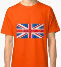 Union Jack Watercolor art Classic T-Shirt