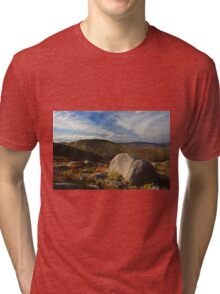 Towards Lavaghmore From Croaghgorm Tri-blend T-Shirt