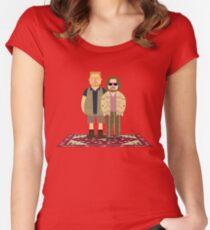 Jeffrey & Walter Women's Fitted Scoop T-Shirt