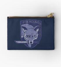 ° METAL GEAR SOLID ° Fox Hound Denim Logo Studio Pouch