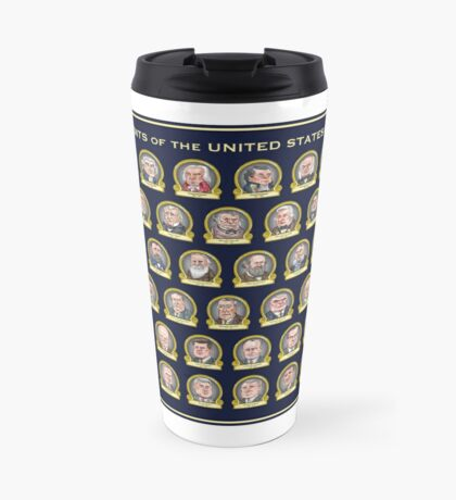 Trump Presidential Poster Travel Mug