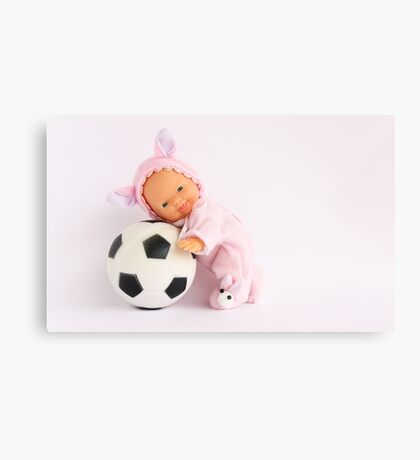 I love Football :) Canvas Print