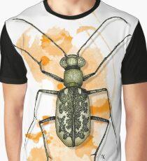 Cicindela marginata Fabricius Graphic T-Shirt