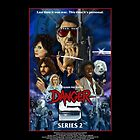 DANGER 5 SERIES 2 OFFICIAL POSTER by Danger Store