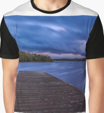 After Sunset At Rossigh Jetty Graphic T-Shirt