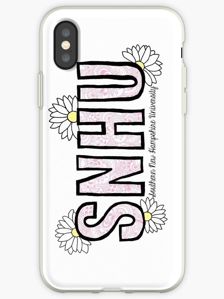 promo code 2473c 4c7f5 'SNHU Custom Design' iPhone Case by sammyjodesigns