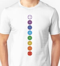 The 8 Chakra Set T-Shirt