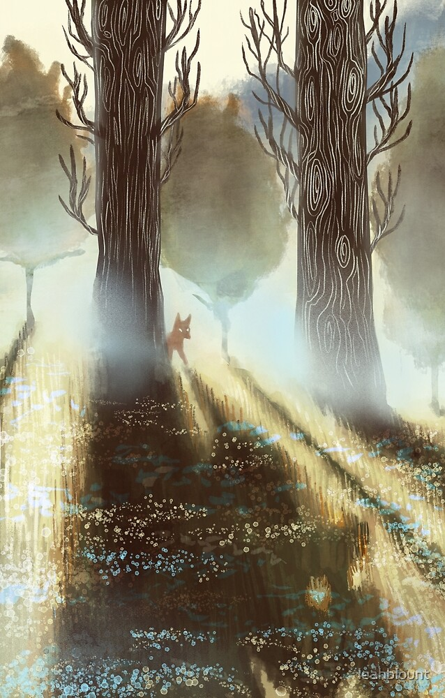 Between the Trees by Leah Blount