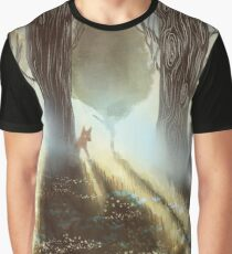 Between the Trees Graphic T-Shirt