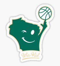 Basketball Wis-Kid Sticker