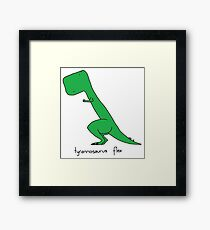 Tyrannosaurus Flex Framed Print