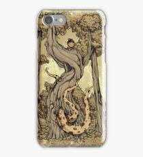 Dangerous tentacle! iPhone Case/Skin