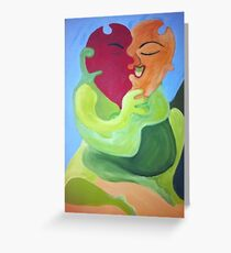 Puzzle Peace Greeting Card