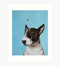 Bully & Bee Art Print