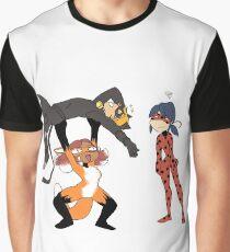 Chat Fabulous Graphic T-Shirt
