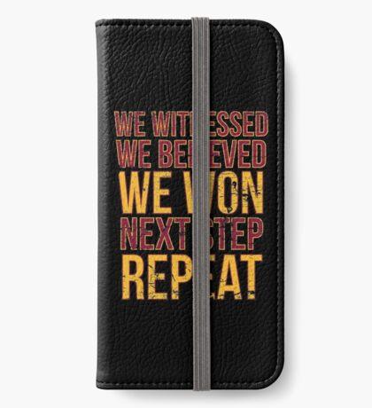 Nächster Schritt Wiederholen iPhone Flip-Case