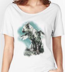 The Last Guardian - Vinyl Art Women's Relaxed Fit T-Shirt