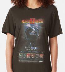 VINTAGE Mortal Kombat II T-shirt ajusté
