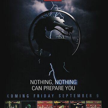VINTAGE Mortal Kombat II  by TATSUHIRO