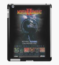 VINTAGE Mortal Kombat II  iPad Case/Skin