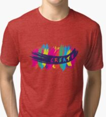 CREATE YOURSELF Tri-blend T-Shirt