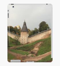 Towers and walls of the old Pskov fortress iPad Case/Skin