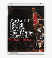 Michael Jordan Quote  iPad Case/Skin