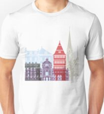 Strasbourg skyline poster Unisex T-Shirt