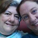 Selfie of Ann and RonnAnn by Ann Palmieri