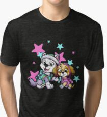 Paw Patrol Girls Tri-blend T-Shirt