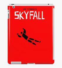 Saul Bass inspired Skyfall poster  iPad Case/Skin