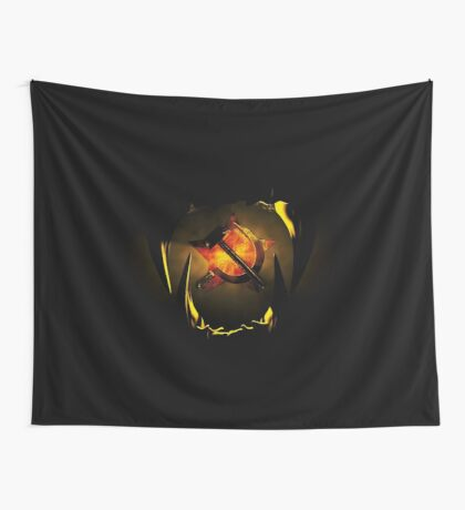 hammer and sickle Wall Tapestry