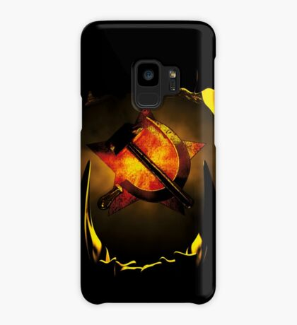 hammer and sickle Case/Skin for Samsung Galaxy