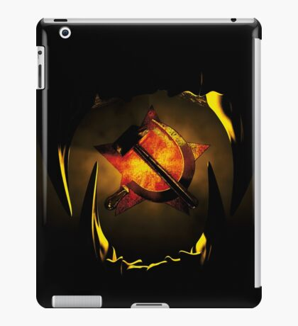 hammer and sickle iPad Case/Skin