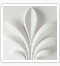 White sculpture Sticker