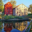 The Prallsville Mills   (Horizontal Version) by Lanis Rossi
