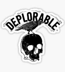 deplorable Sticker