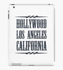 Hollywood (black) iPad Case/Skin
