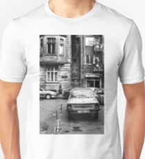 Quiet Streetscape In Sofia From Last Century Unisex T-Shirt