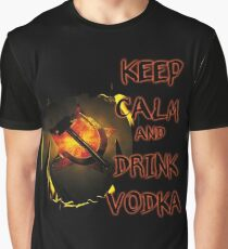 keep calm and drink vodka Graphic T-Shirt